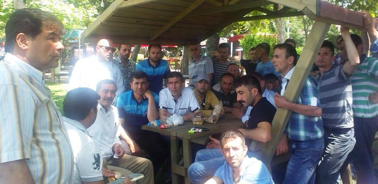 Dev.Maden-Sen Zonguldak Kilimli'de Maden İşçilerini Ziyaret Etti.