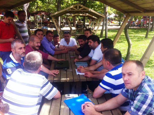 Zonguldak Kilimli'de İşten Atılan Madencilerle Süreci Değerlendirdik.