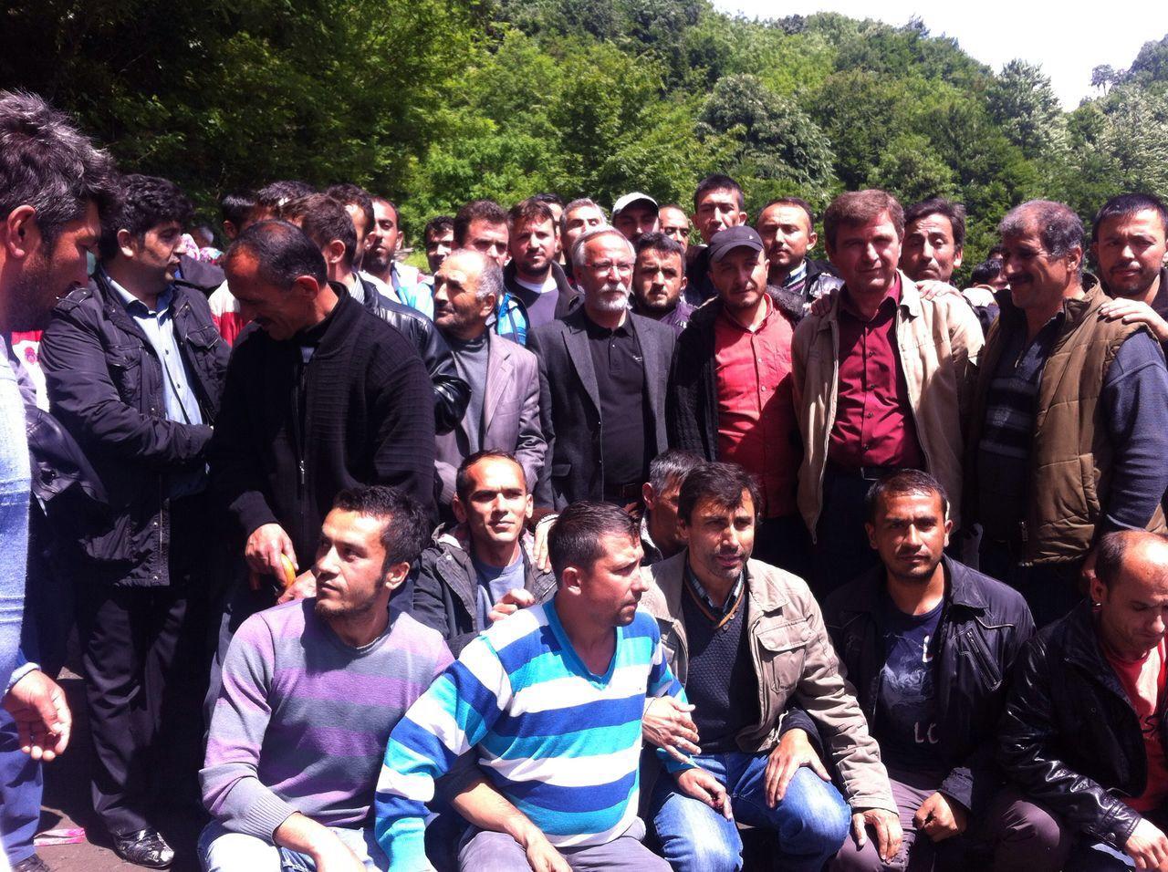 Zonguldak Direnişi Yerin Altında ve Üstünde 9 Gündür Devam Ediyor.
