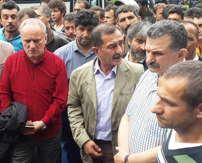 Dev.Maden-Sen Zonguldak Kilimli de Direnen Maden İşçilerini Ziyaret Etti.