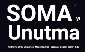 Soma Katliamının 3. Yılında SOMA'ya Adalet İstiyoruz.